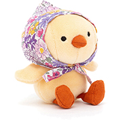 Jellycat Betty Bonnet Yellow Chick